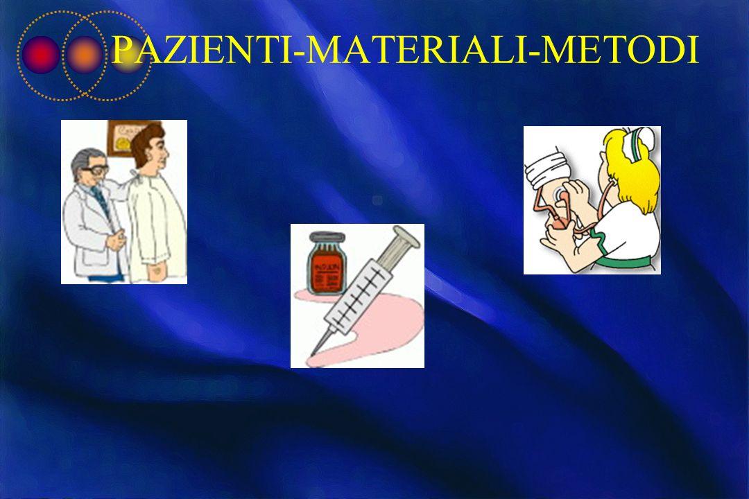PAZIENTI-MATERIALI-METODI