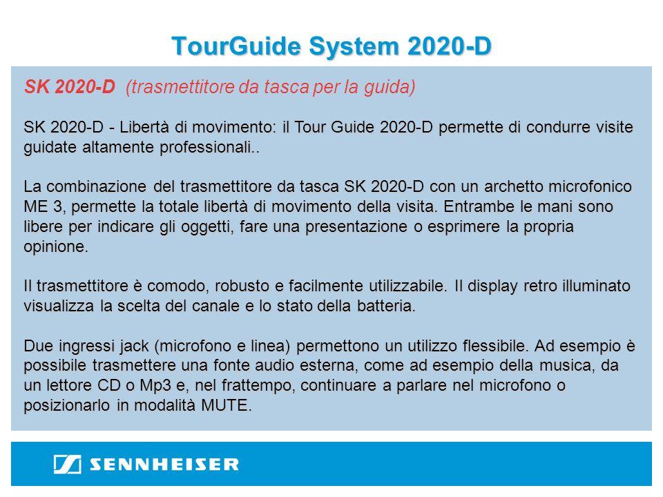 TourGuide System 2020-D SK 2020-D (trasmettitore da tasca per la guida)