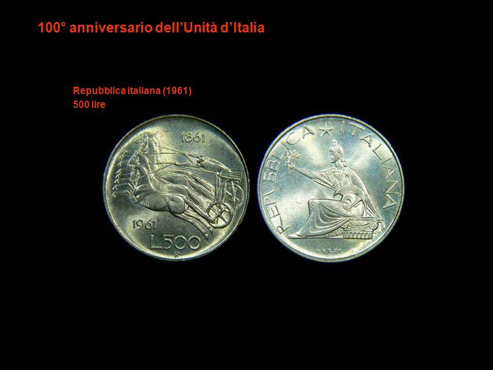 100° anniversario dell'Unità d'Italia