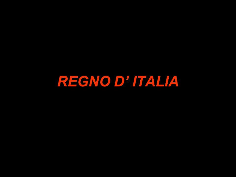 REGNO D' ITALIA