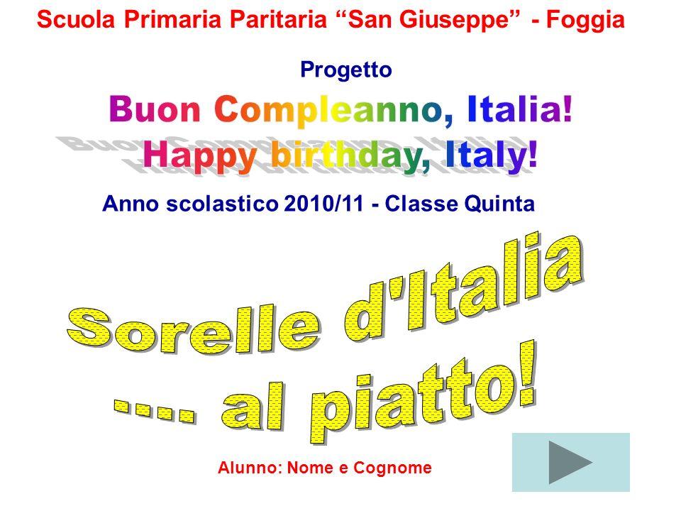 Buon Compleanno, Italia! Happy birthday, Italy!