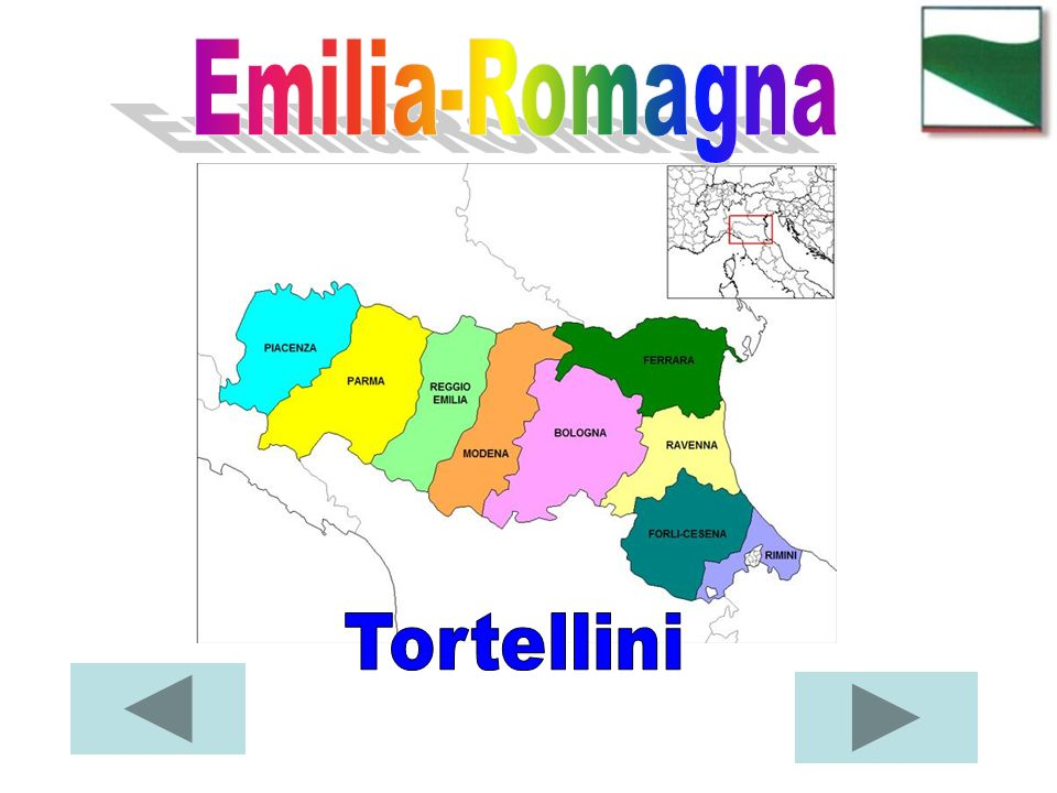 Emilia-Romagna Tortellini