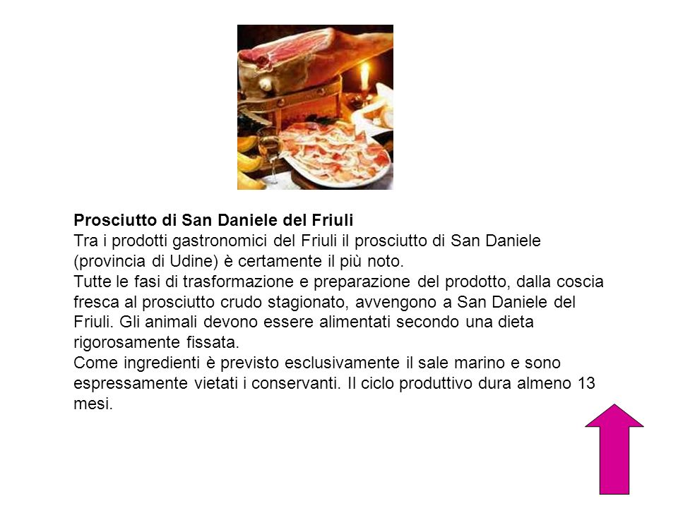 Prosciutto di San Daniele del Friuli