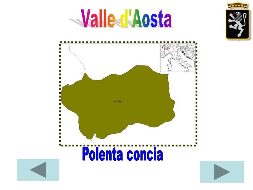 Valle d Aosta Polenta concia