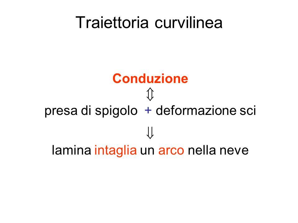 Traiettoria curvilinea