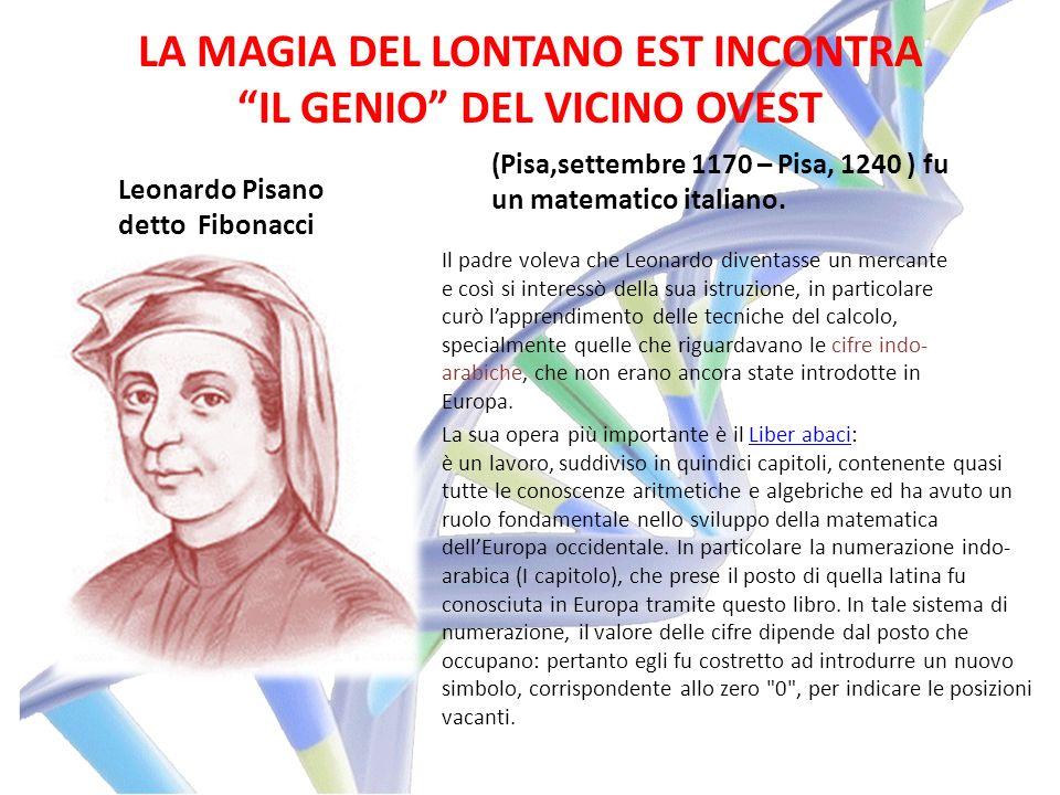 LA MAGIA DEL LONTANO EST INCONTRA IL GENIO DEL VICINO OVEST