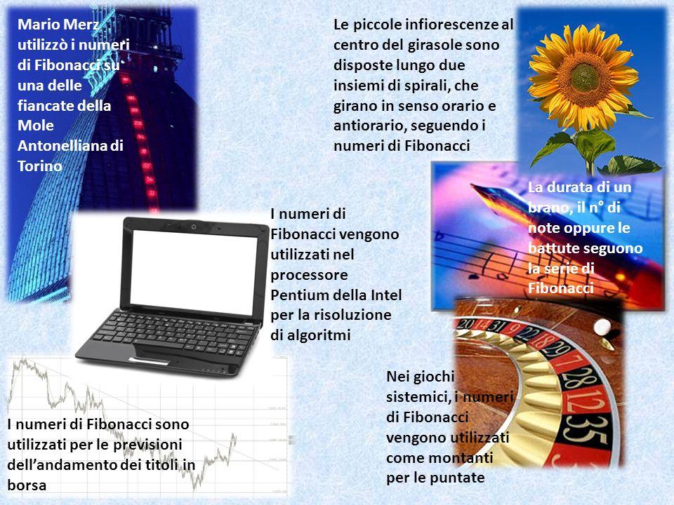 Mario Merz utilizzò i numeri di Fibonacci su una delle fiancate della Mole Antonelliana di Torino