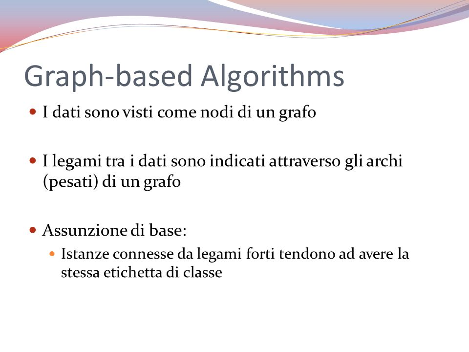 Graph-based Algorithms