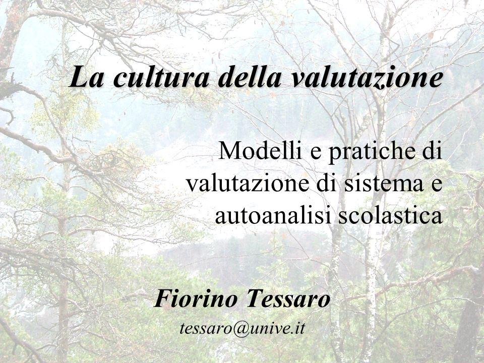Fiorino Tessaro tessaro@unive.it