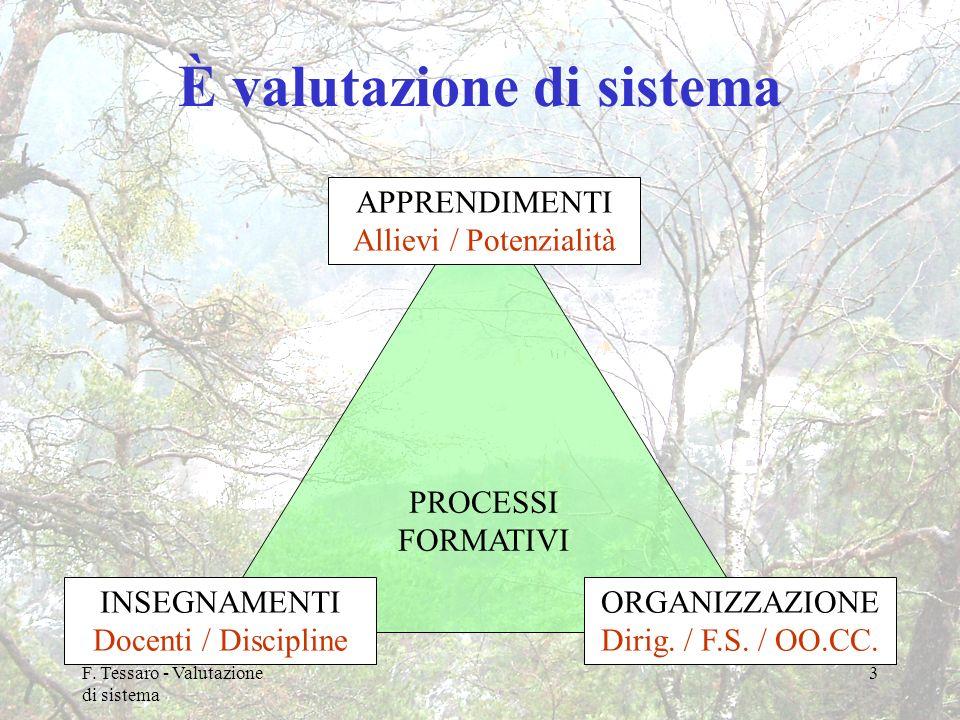 È valutazione di sistema