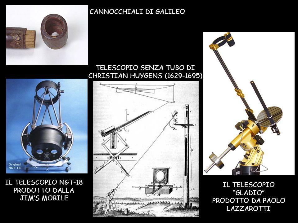 CANNOCCHIALI DI GALILEO