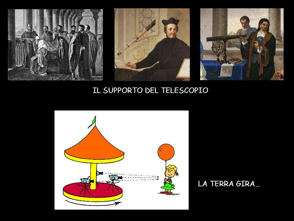 IL SUPPORTO DEL TELESCOPIO