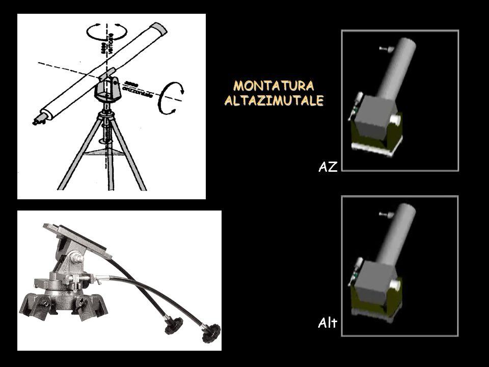 MONTATURA ALTAZIMUTALE