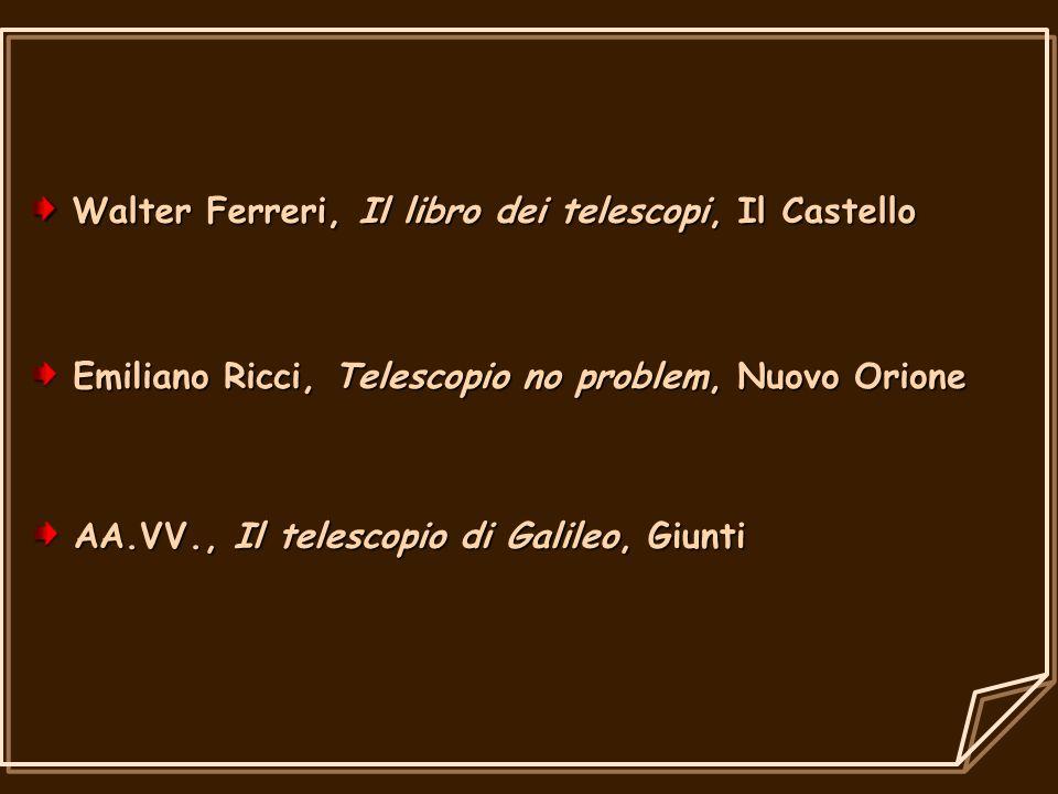 Walter Ferreri, Il libro dei telescopi, Il Castello