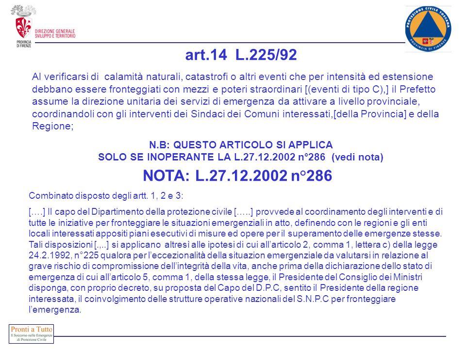 art.14 L.225/92