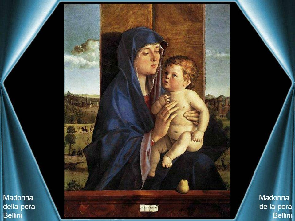 Madonna della pera Bellini Madonna de la pera Bellini