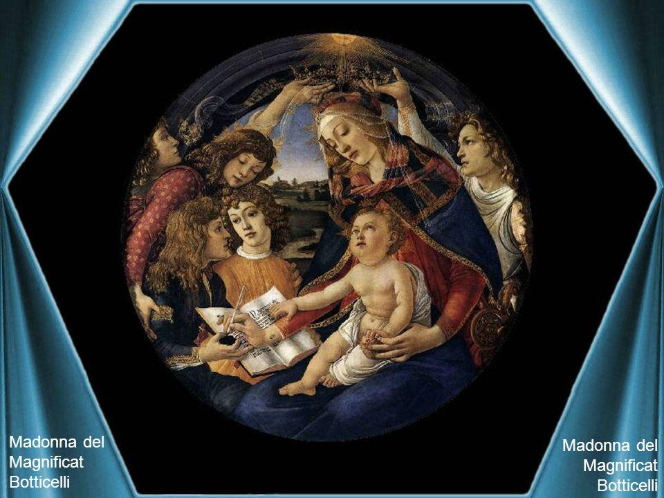 Madonna del Magnificat Botticelli Madonna del Magnificat Botticelli