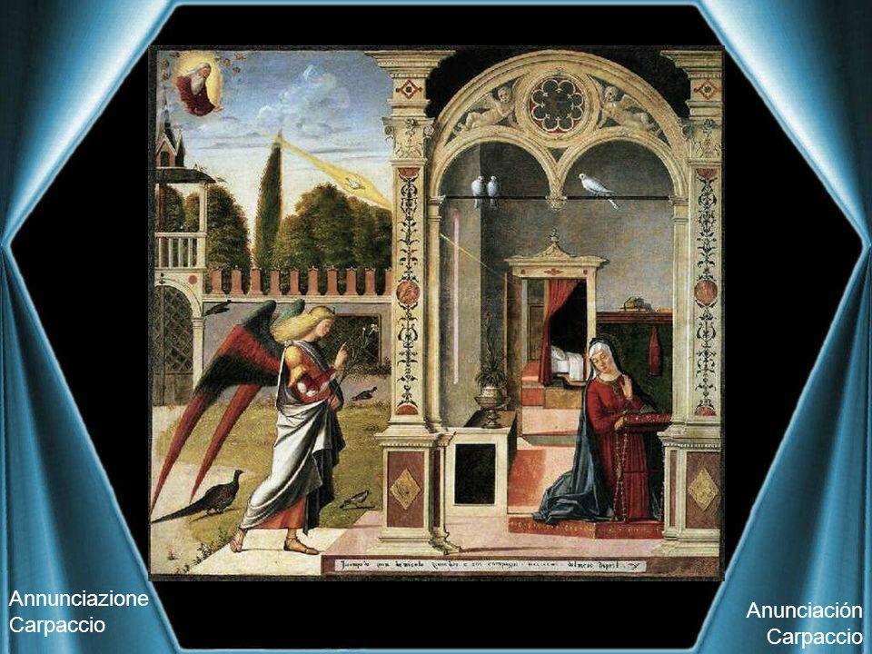 Annunciazione Carpaccio Anunciación Carpaccio
