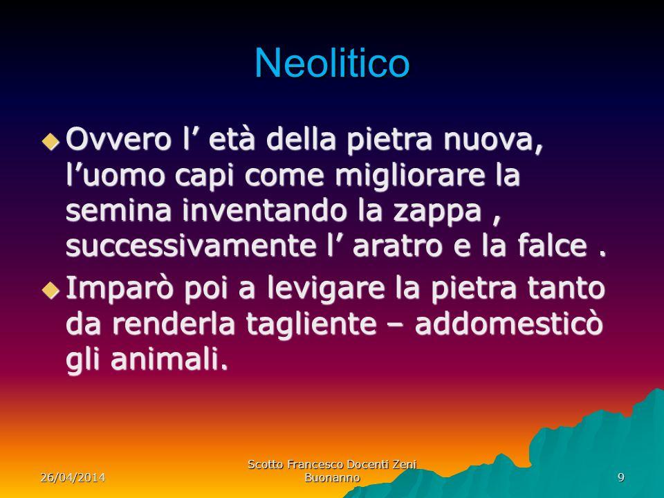 Scotto Francesco Docenti Zeni Buonanno
