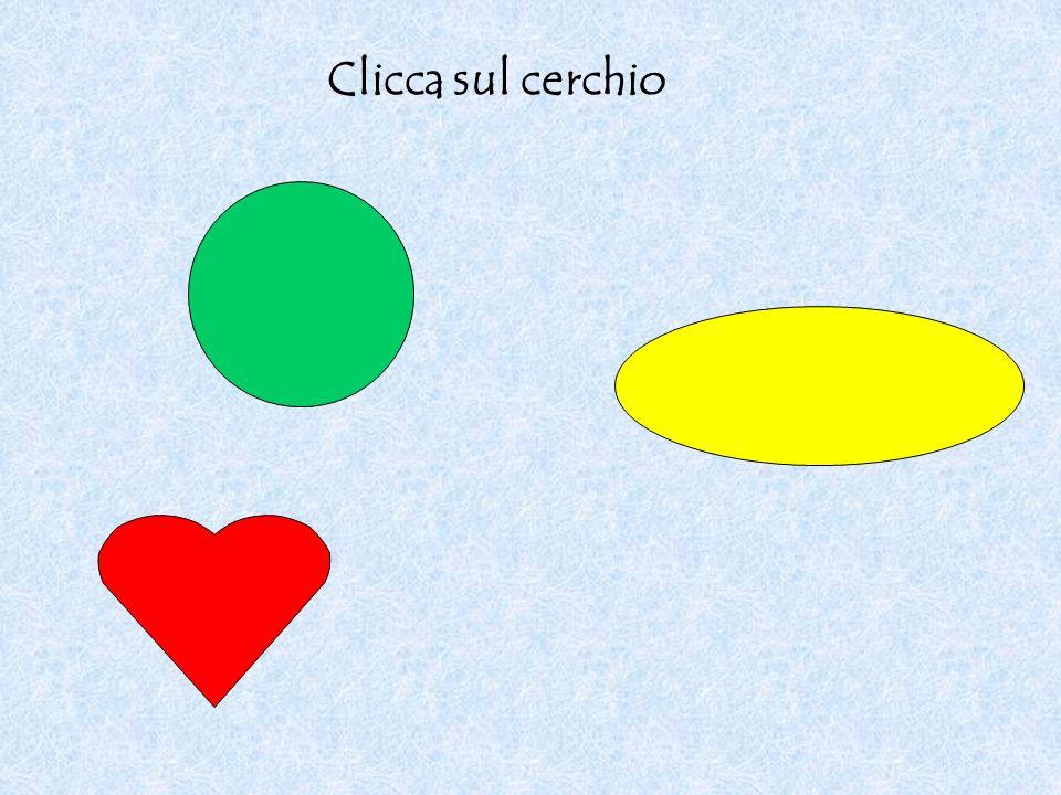 Clicca sul cerchio