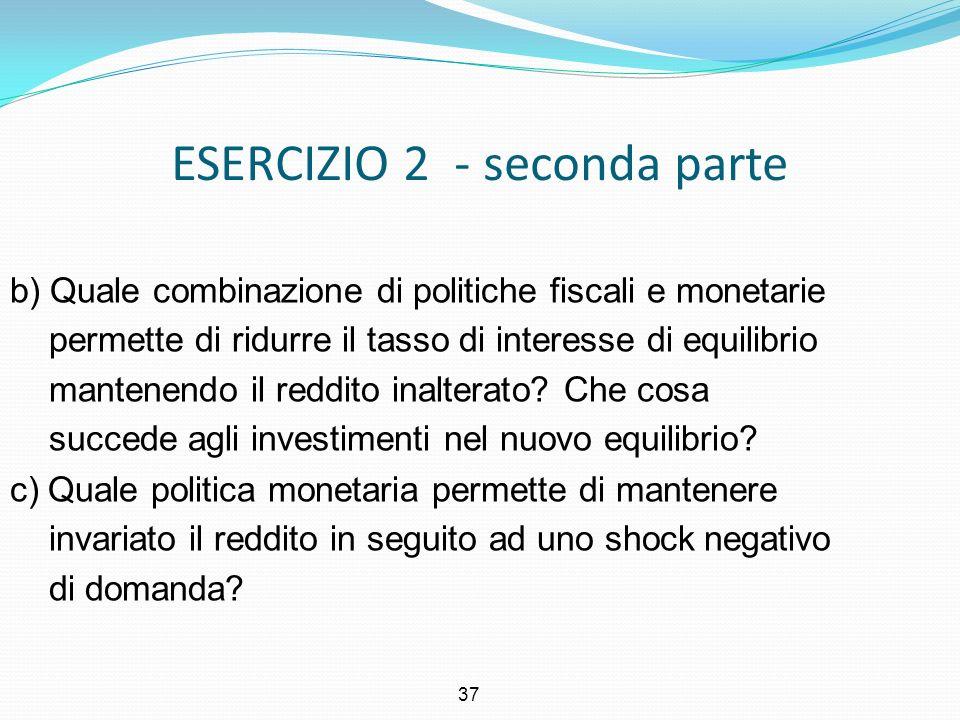 ESERCIZIO 2 - seconda parte