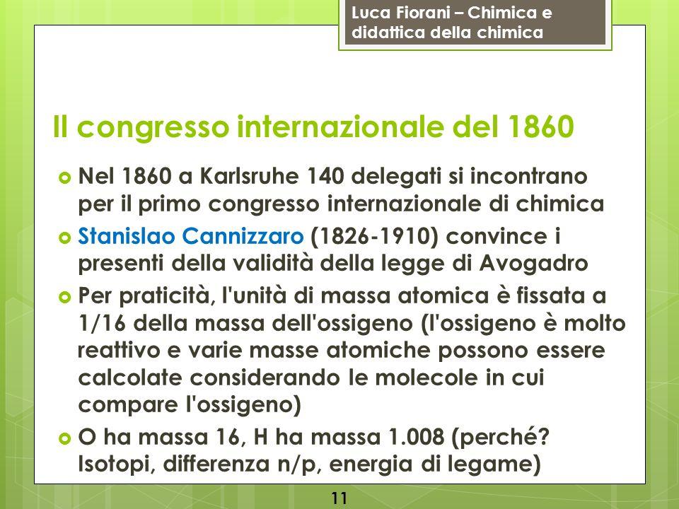Il congresso internazionale del 1860