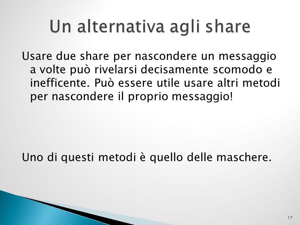 Un alternativa agli share