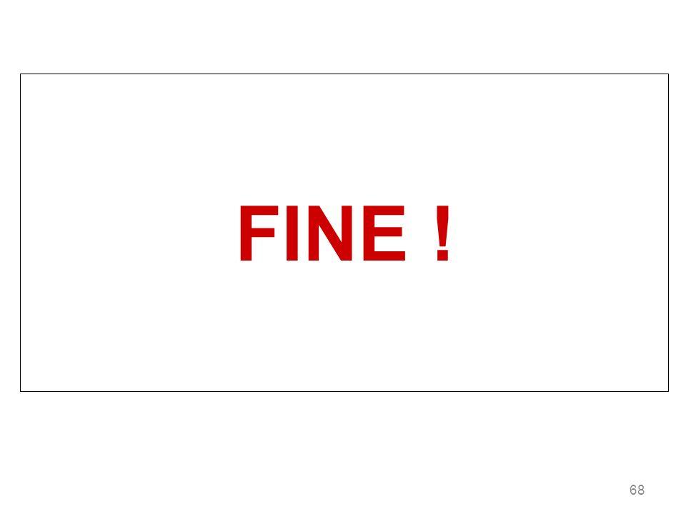 FINE ! 68