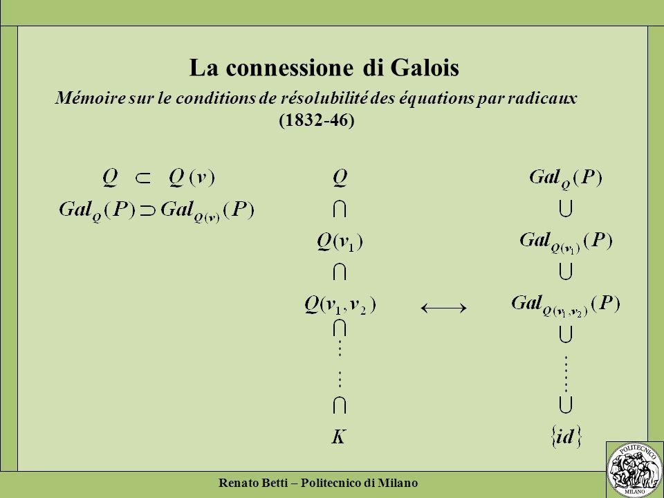 La connessione di Galois