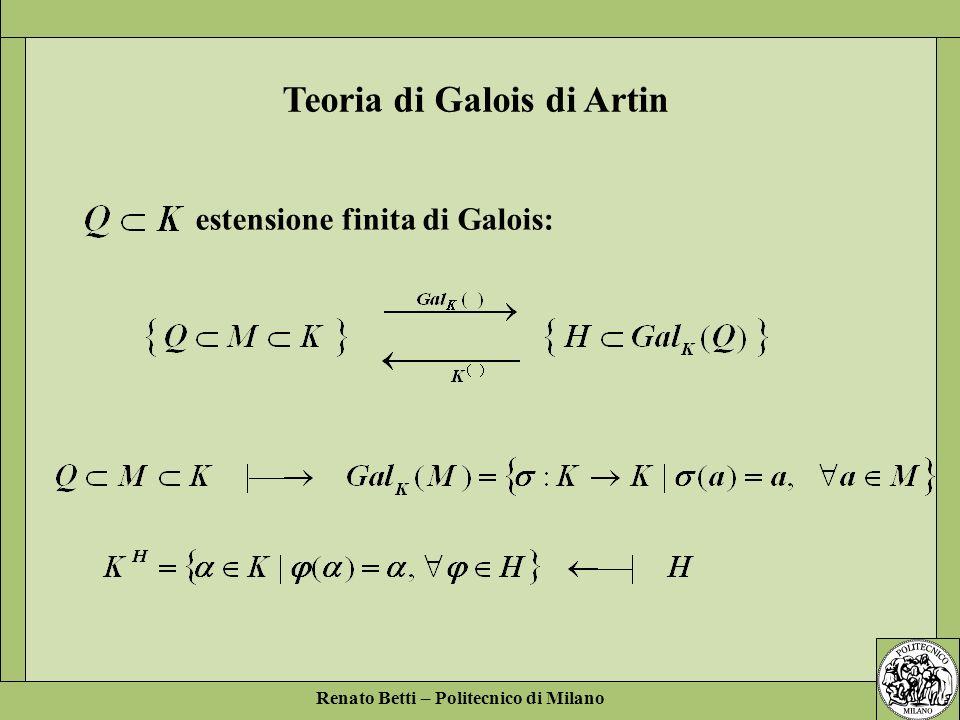 Teoria di Galois di Artin
