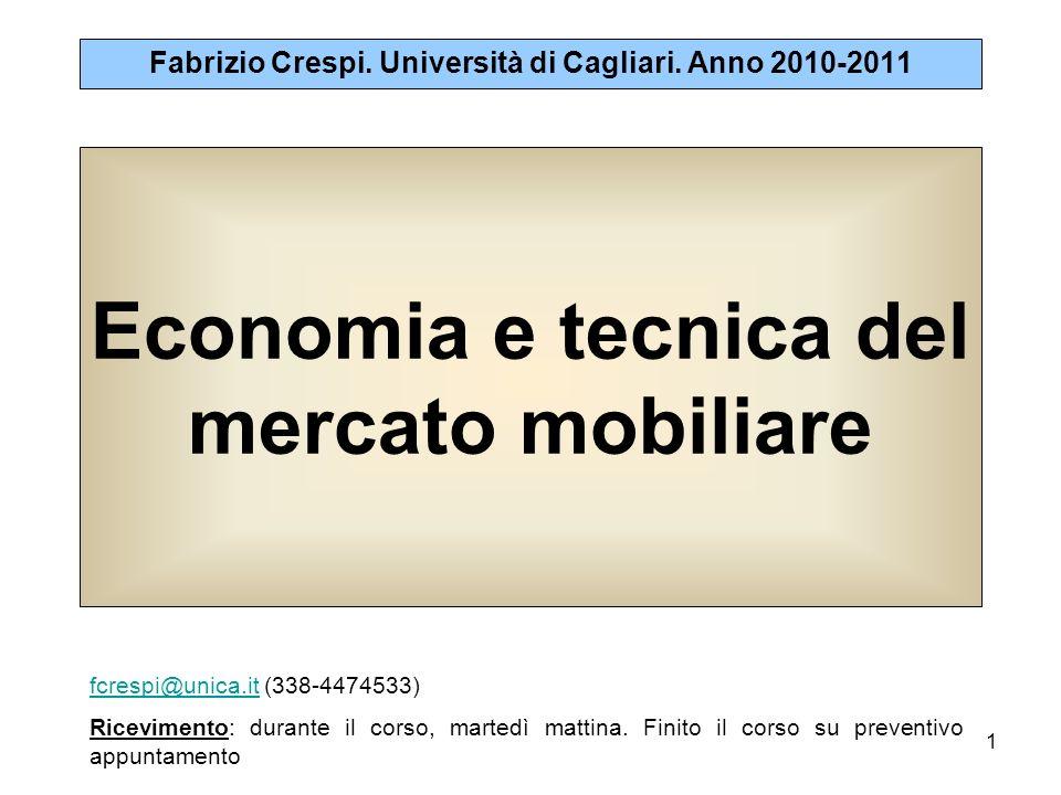 Economia e tecnica del mercato mobiliare
