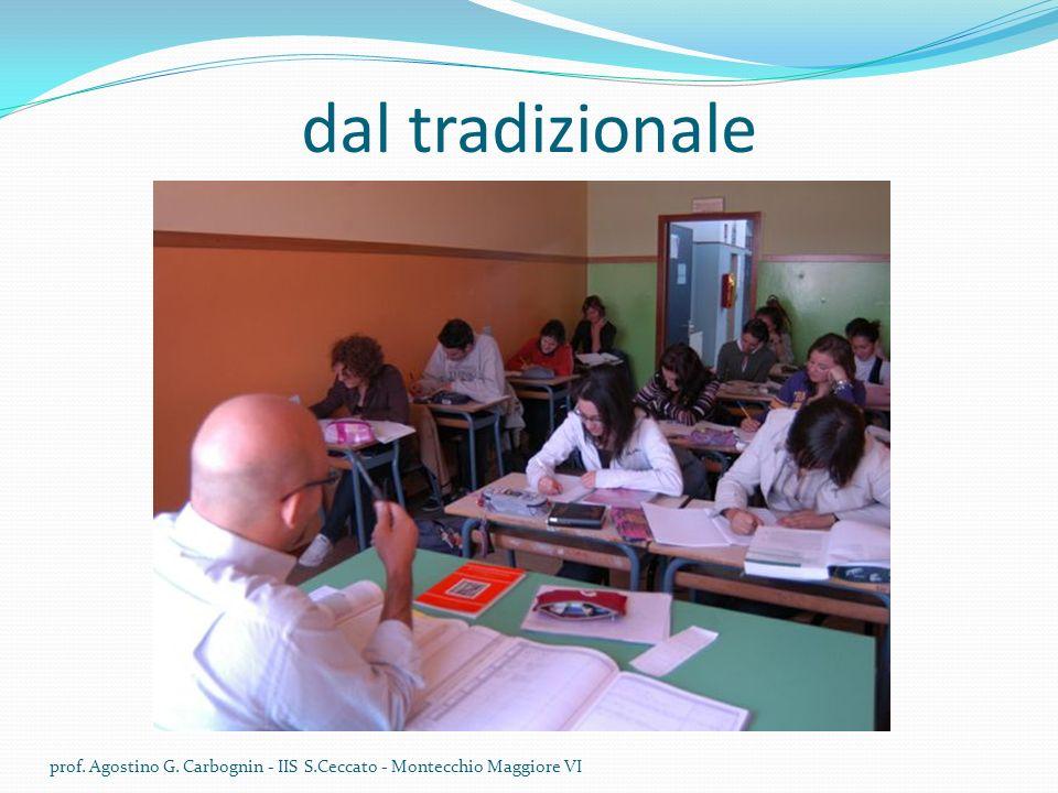 dal tradizionale prof. Agostino G. Carbognin - IIS S.Ceccato - Montecchio Maggiore VI