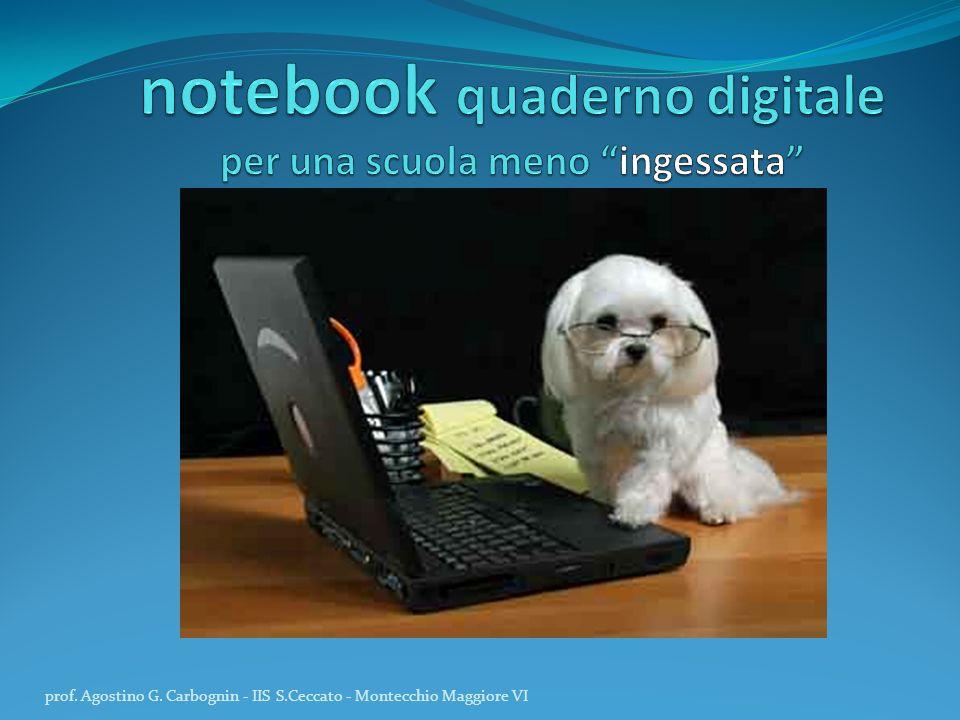notebook quaderno digitale per una scuola meno ingessata