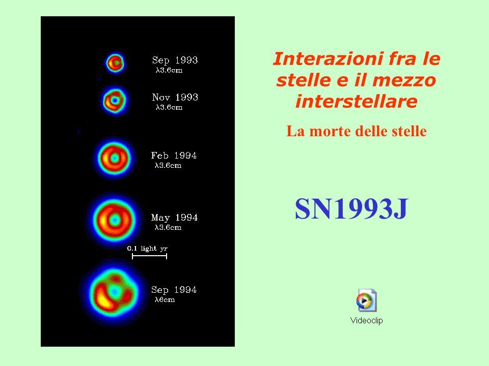 Interazioni fra le stelle e il mezzo interstellare