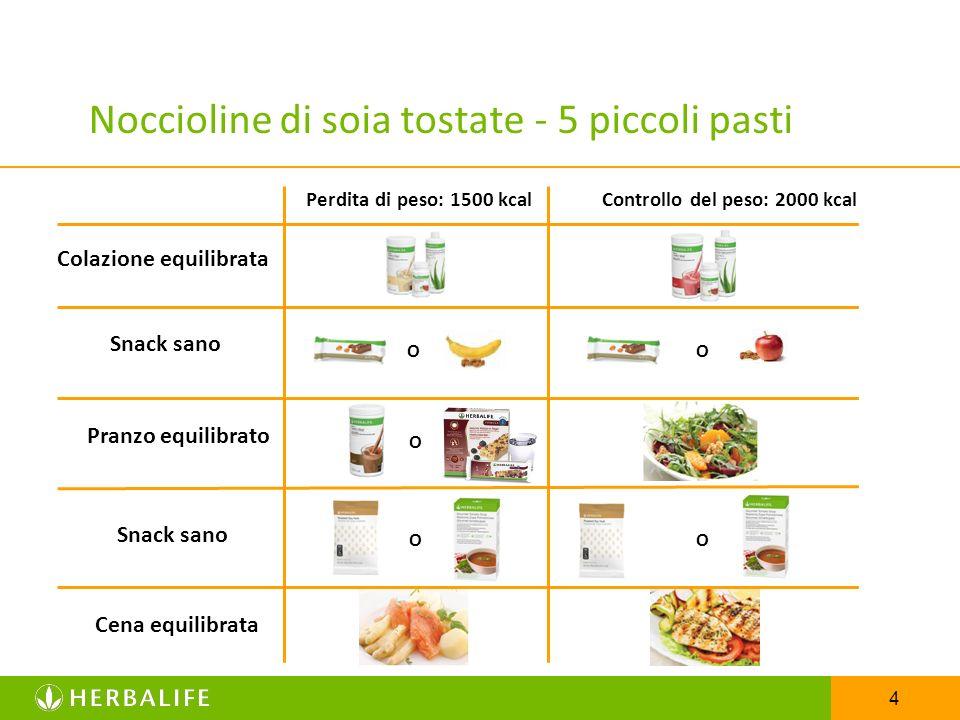Noccioline di soia tostate - 5 piccoli pasti