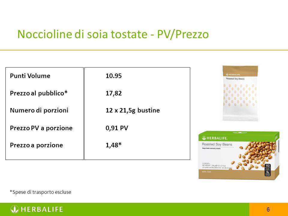 Noccioline di soia tostate - PV/Prezzo