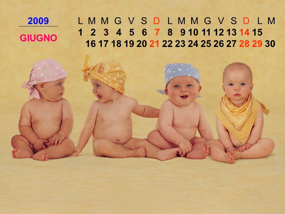 2009 L. M. G. V. S. D. GIUGNO. 1. 2. 3. 4. 5. 6. 7. 8. 9. 10. 11. 12. 13. 14. 15.