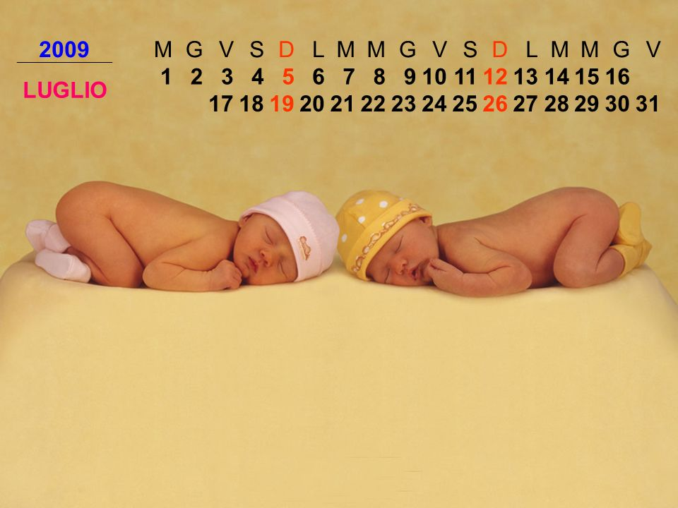 2009 M. G. V. S. D. L. LUGLIO. 1. 2. 3. 4. 5. 6. 7. 8. 9. 10. 11. 12. 13. 14. 15.