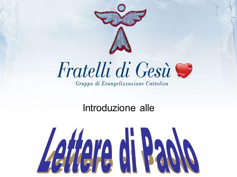 Introduzione alle Lettere di Paolo