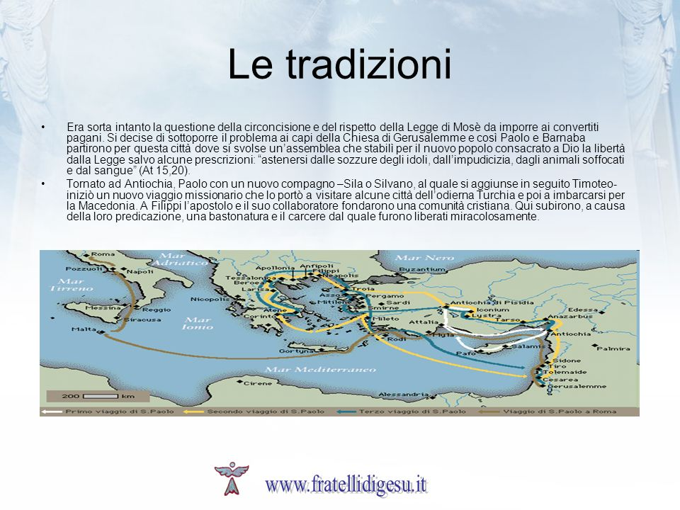 Le tradizioni www.fratellidigesu.it