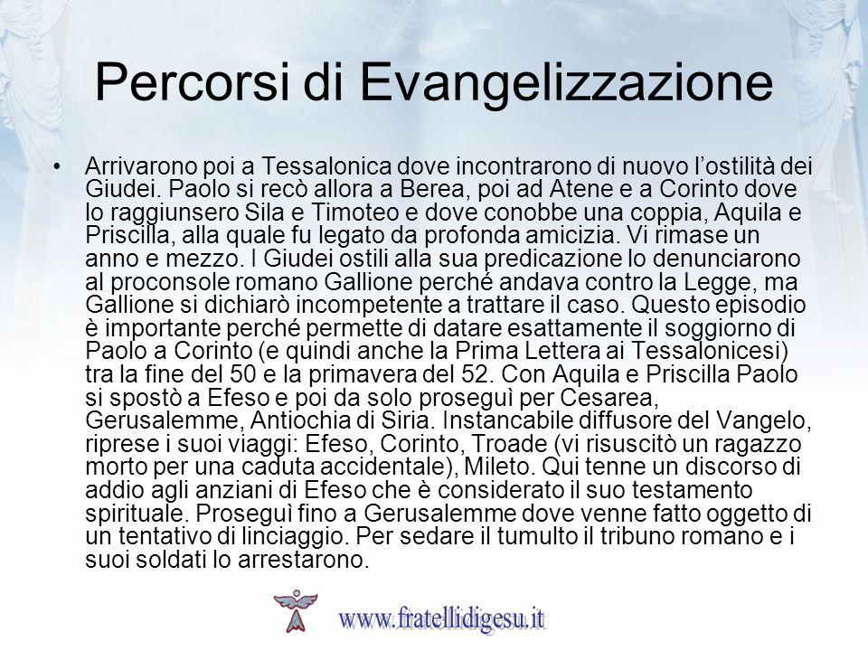 Percorsi di Evangelizzazione