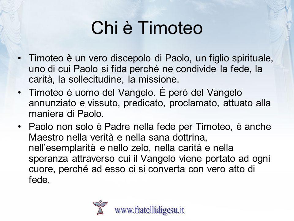 Chi è Timoteo
