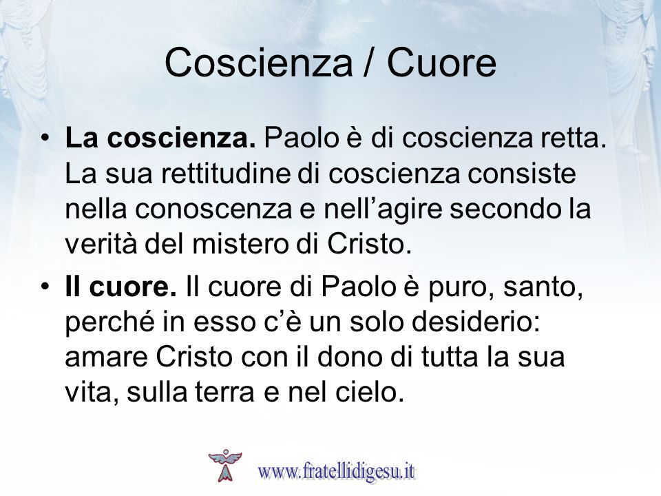 Coscienza / Cuore