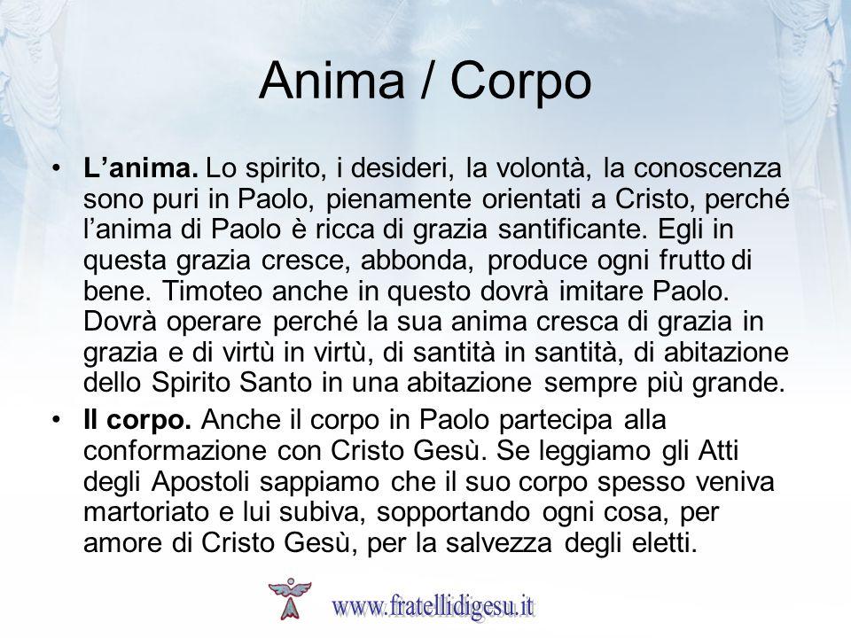 Anima / Corpo