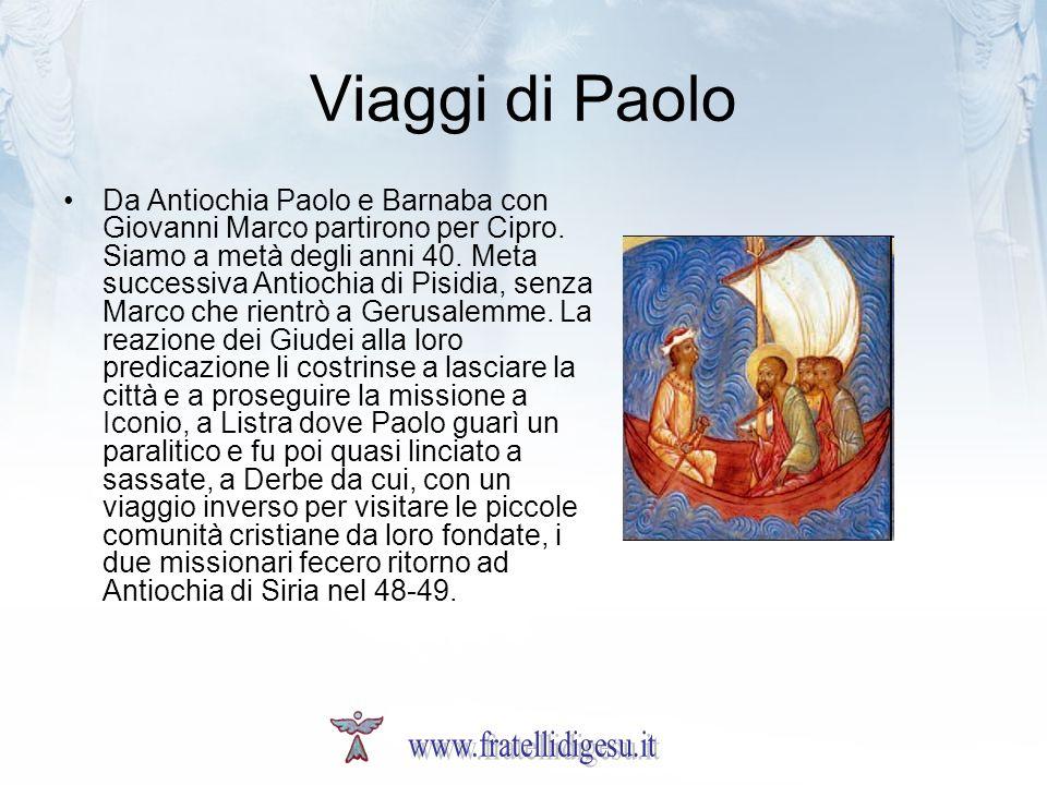 Viaggi di Paolo