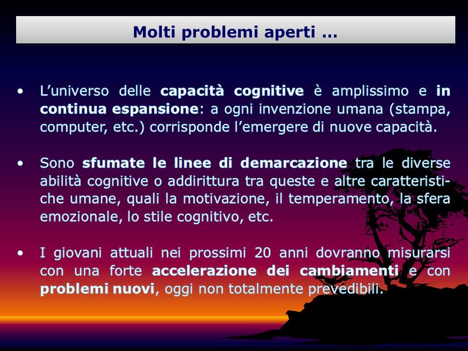 Molti problemi aperti …