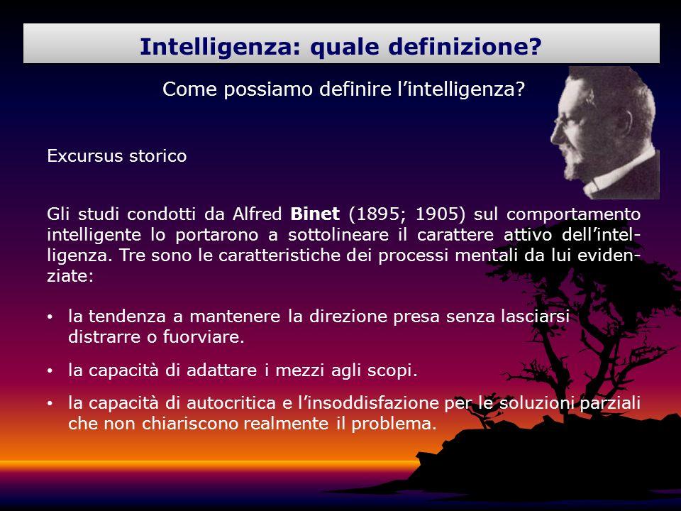 Intelligenza: quale definizione