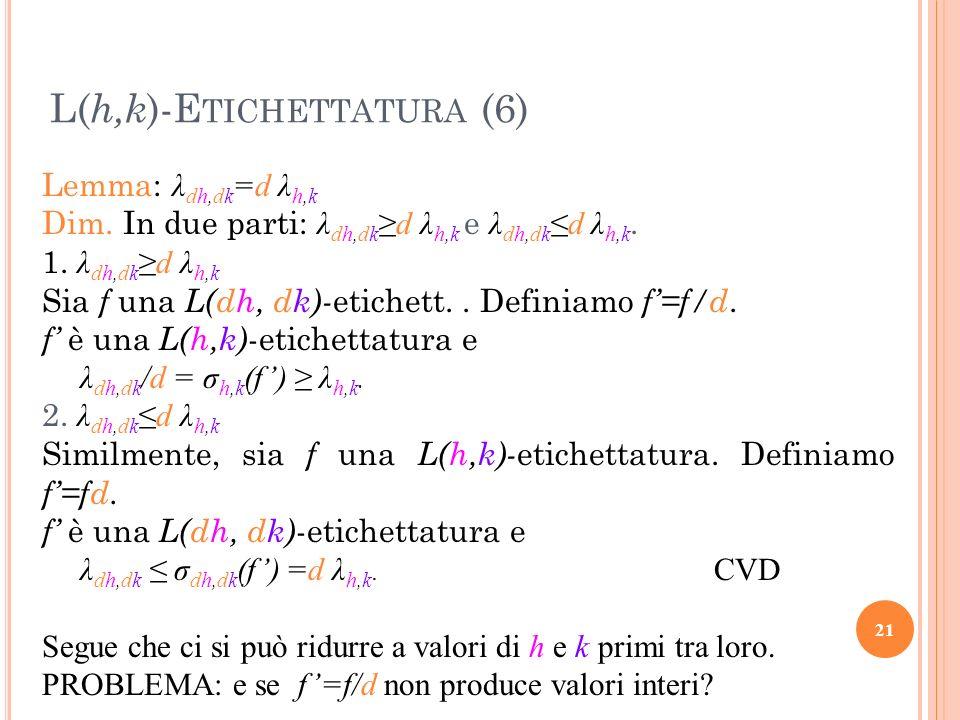 L(h,k)-Etichettatura (6)