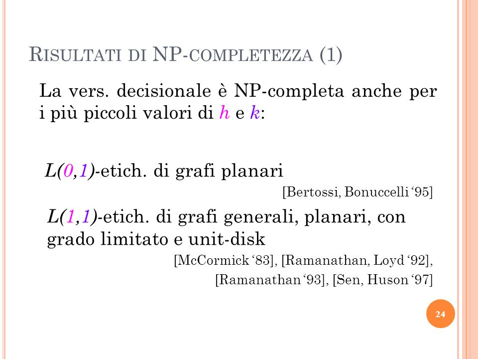 Risultati di NP-completezza (1)