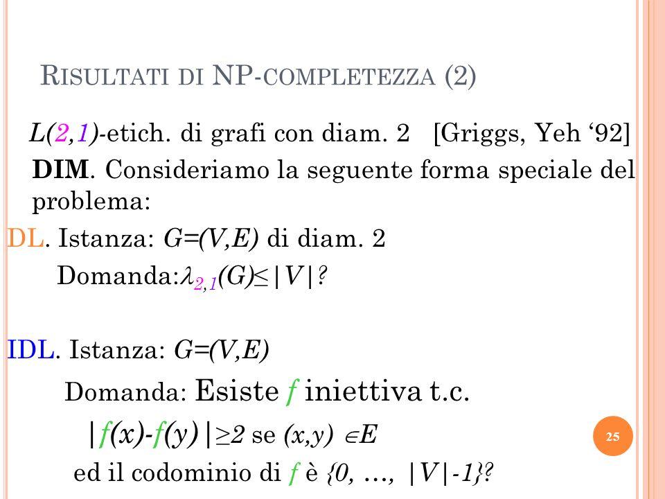 Risultati di NP-completezza (2)
